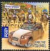 Australia 2012 Road Trip $2.35 sheet stamp good/fine used